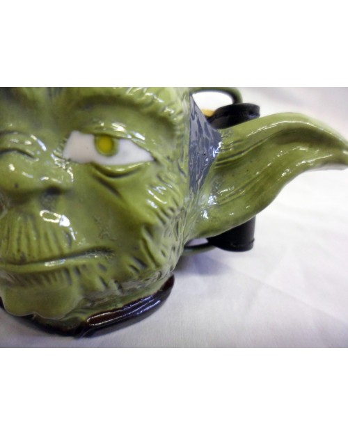 STAR WARS YODA HEAD 3D BUCKLE with BELT