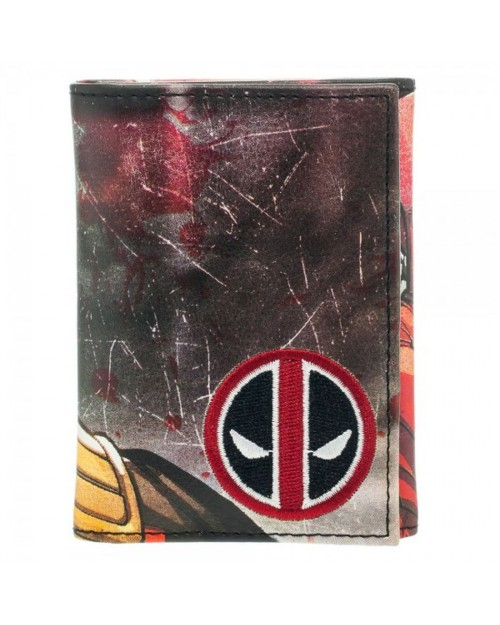 AWESOME MARVEL'S DEADPOOL THUMB UP TRI-FOLD WALLET