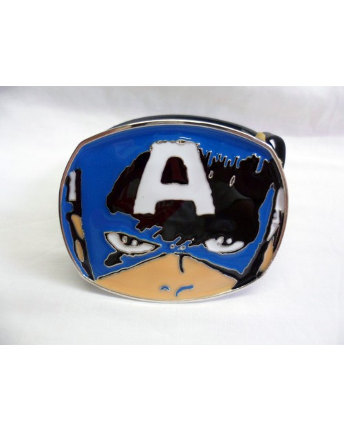 CAPTAIN AMERICA EYES/ MASK BUCKLE with BELT