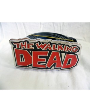 AWESOME AMC'S THE WALKING DEAD COMIC LOGO BUCKLE with BELT