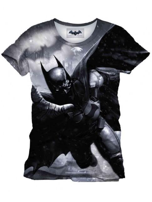 DC COMICS BATMAN: ARKHAM ORIGINS SUIT SUBLIMATION T-SHIRT