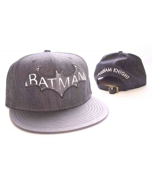cool dc comics batman arkham snapback cap spike