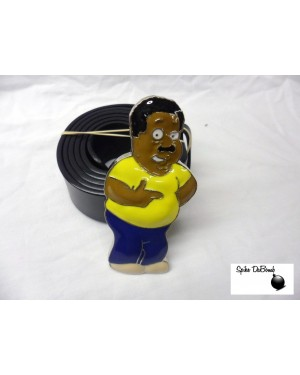 FREAKIN' SWEET FAMILY GUY'S CLEVELAND BROWN BUCKLE with BELT