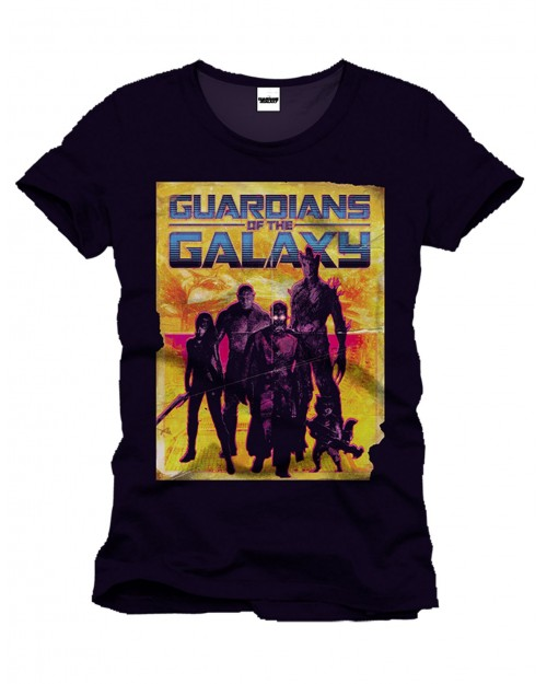 MARVEL'S GUARDIANS OF THE GALAXY ROCKET RACCOON AND GROOT T-SHIRT