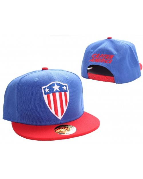 AWESOME MARVEL COMICS LOGO SNAPBACK CAP