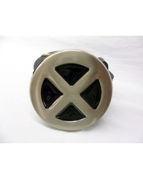 MARVEL'S X-MEN CHROME LOGO/ SYMBOL BUCKLE with BELT