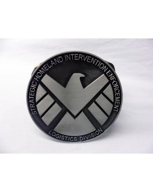 Marvels X Men Chrome Logo Symbol Buckle With Belt Spike Dabomb