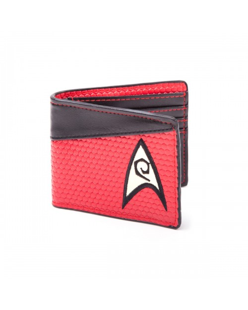 RED STAR TREK STARFLEET ENGINEERING WALLET