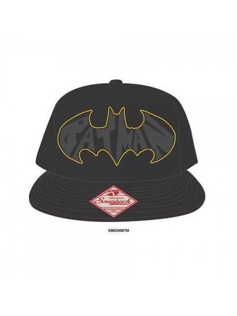 STUNNING BAT 'BATMAN' SYMBOL SNAPBACK CAP