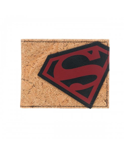 AWESOME BATMAN SYMBOL CORK BI-FOLD WALLET