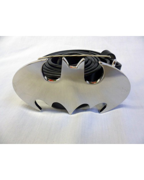 DC COMICS BATMAN CLASSIC SYMBOL SHINY BUCKLE with BELT