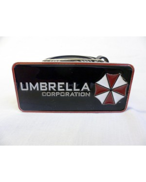 RESIDENT EVIL UMBRELLA CORPORATION LOGO BUCKLE with BELT