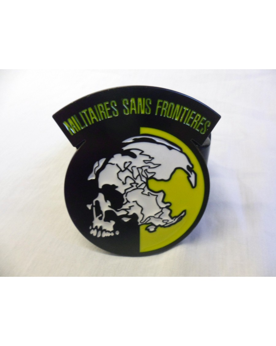 METAL GEAR MILITAIRES SANS FRONTIERES LOGO BUCKLE with BELT