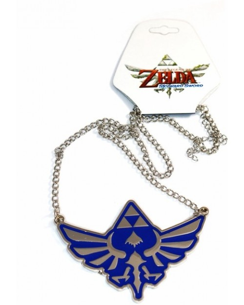 STUNNING THE LEGEND OF ZELDA SKYWARD SWORD TRIFORCE NECKLACE