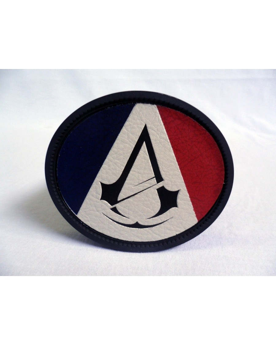 ASSASSIN'S CREED: UNITY - FRENCH FLAG AND SYMBOL BUCKLE with BELT