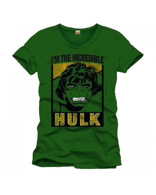 MARVEL'S 'I'M THE INCREDIBLE HULK' DARK GREEN T-SHIRT