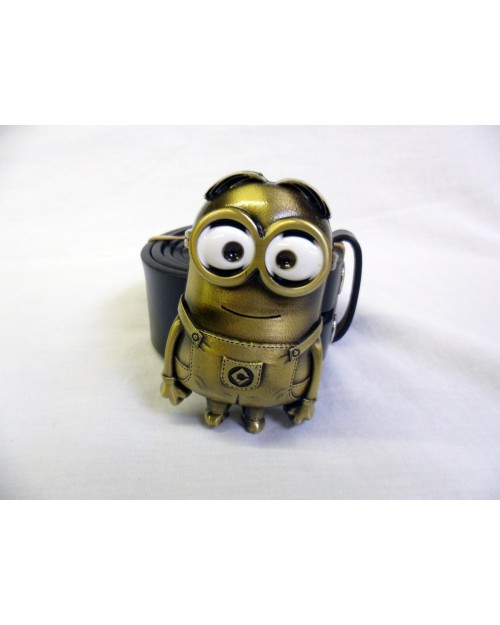 DESPICABLE ME BRONZE MINION BUCKLE with BELT