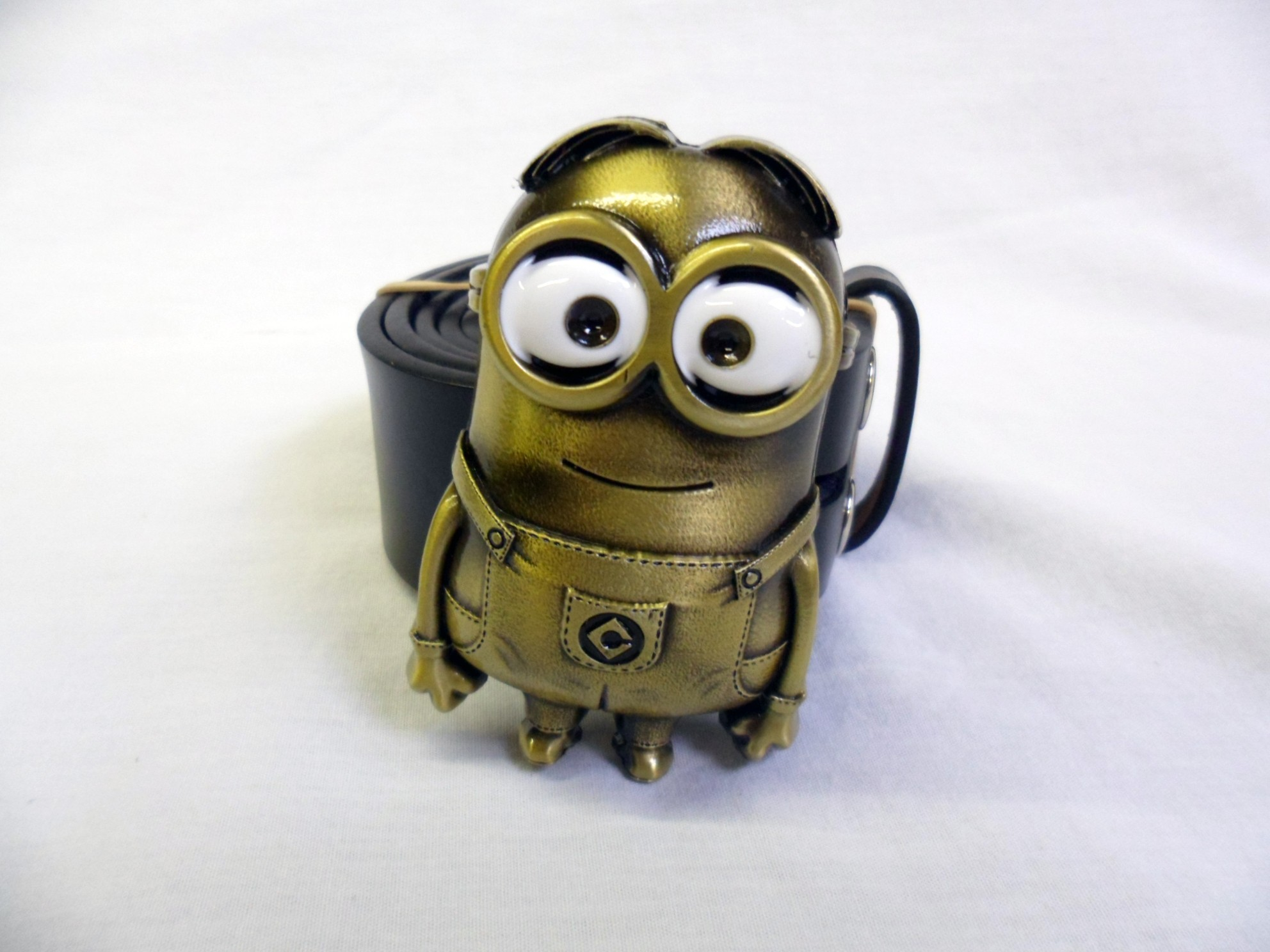 Despicable me bronze minion buckle with belt spike dabomb biocorpaavc Image collections