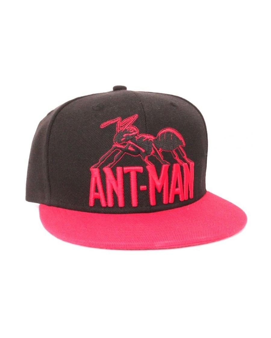 MARVEL COMICS ANT-MAN BLACK & RED SNAPBACK CAP