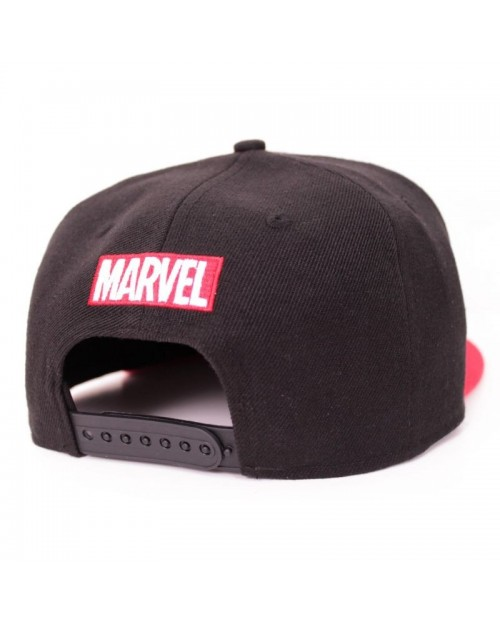 MARVEL COMICS ANT-MAN BLACK & RED SNAPBACK CAP