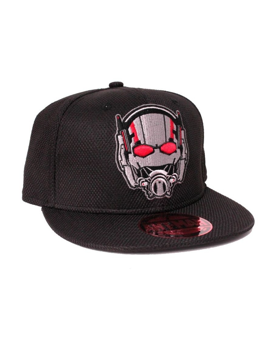 MARVEL COMICS ANT-MAN HELMET/ MASK EMBROIDERED SNAPBACK CAP