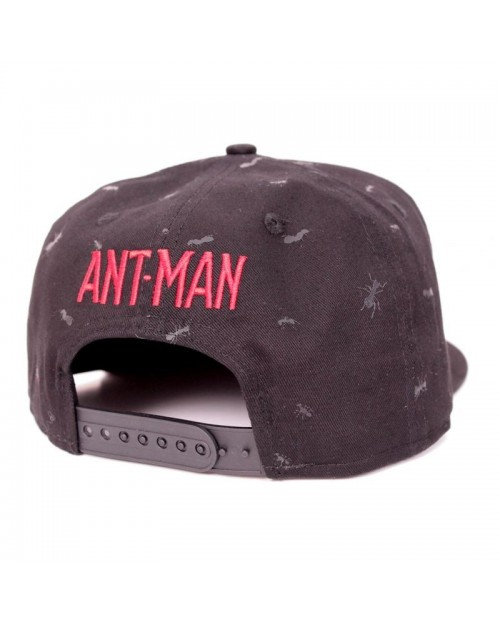 MARVEL COMICS ANT-MAN PYM TECHNOLOGIES - ALL OVER ANTS SNAPBACK CAP
