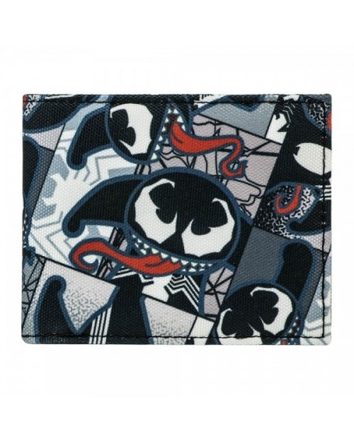 MARVEL COMICS THE AMAZING SPIDER-MAN VENOM KAWAII BI-FOLD WALLET