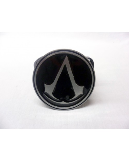 ASSASSIN'S CREED BLACK & GREY SYMBOL ROUND BUCKLE with BELT