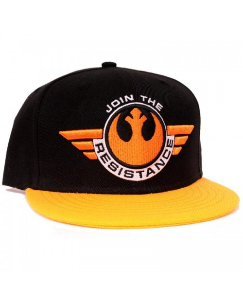 STAR WARS FORCE AWAKENS JOIN THE RESISTANCE SNAPBACK CAP