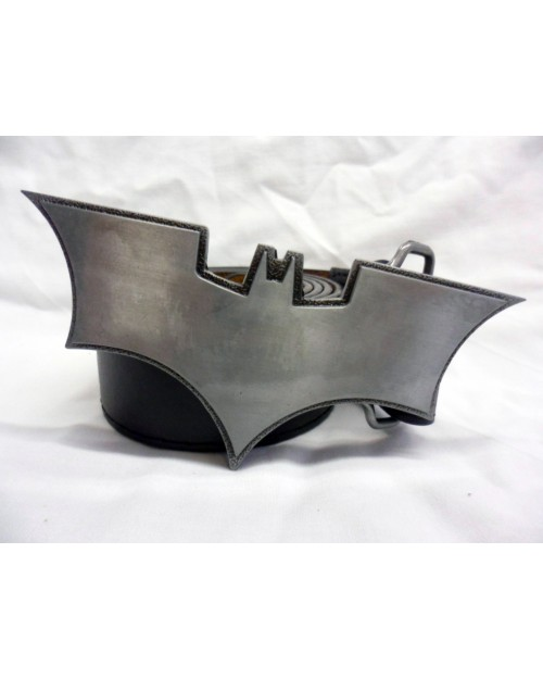 GREY BATMAN: THE DARK KNIGHT WEAPON BUCKLE with BELT