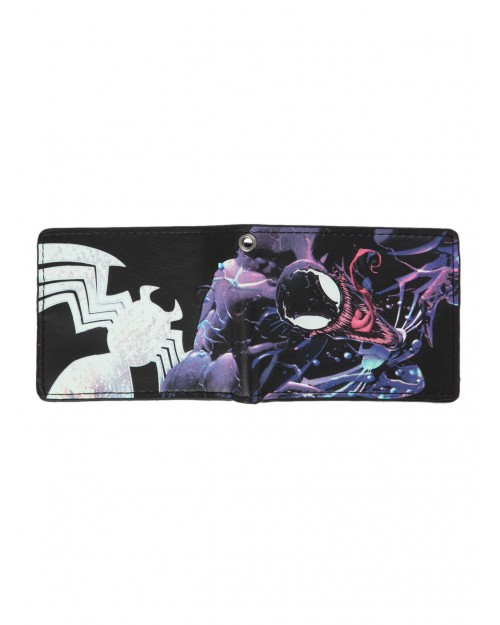 MARVEL'S THE AMAZING SPIDER-MAN VENOM RAGE WALLET WITH CHAIN