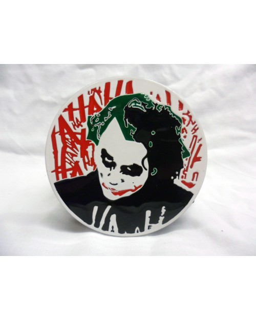 BATMAN: THE DARK KNIGHT. THE JOKER 'HA' BUCKLE with BELT