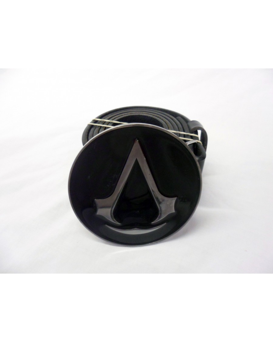 ASSASSINS CREED REVELATIONS LOGO ROUND BUCKLE with BELT