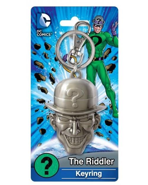 OFFICIAL DC COMICS BATMAN: THE RIDDLER CLOSE UP FACE KEYRING