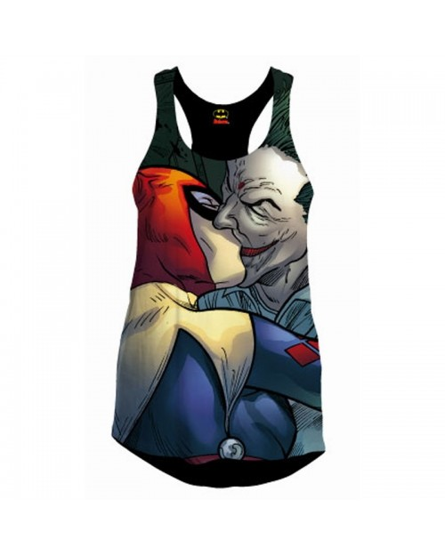 AWESOME DC COMICS BATMAN: HARLEY QUINN AND THE JOKER SUBLIMATION VEST