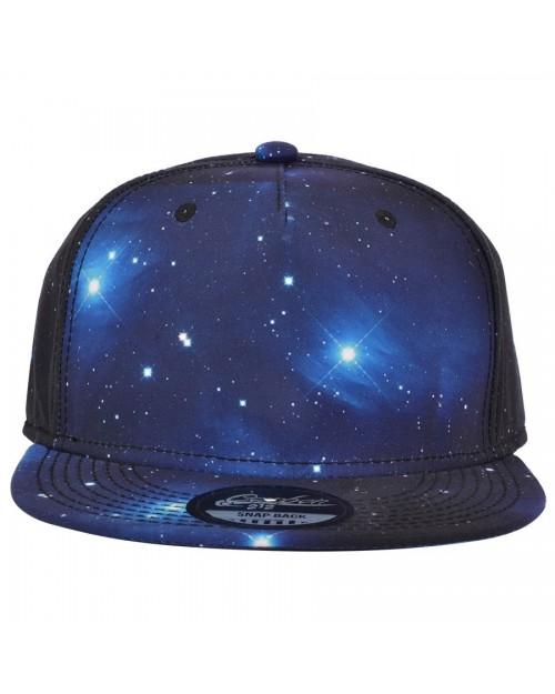CARBON 212 BLUE SPACE/ GALAXY SNAPBACK CAP