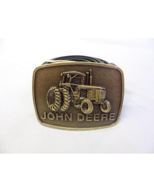 JOHN DEERE VINTAGE STYLED TRACTOR BUCKLE with BELT