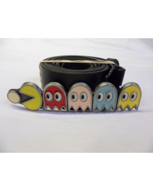 PAC-MAN LINE UP BUCKLE with BELT