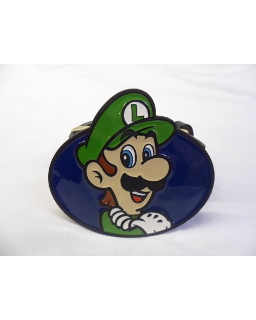 SUPER MARIO BRO'S LUIGI OVAL BUCKLE with BELT