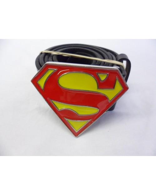 DC COMICS SMALL CLASSIC SUPERMAN SYMBOL BUCKLE with BELT