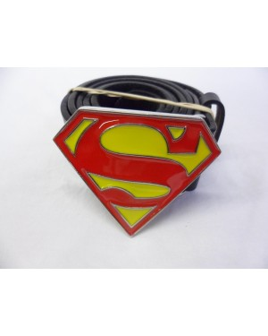 DC COMICS SMALL CLASSIC SUPERMAN SYMBOL BUCKLE with BELT
