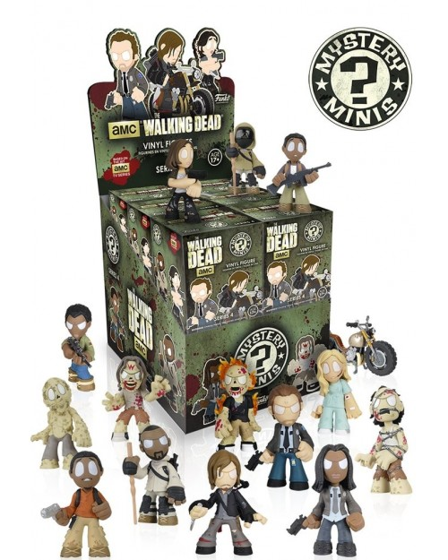 FUNKO MYSTERY MINI BLIND BOX: THE WALKING DEAD SERIES 4