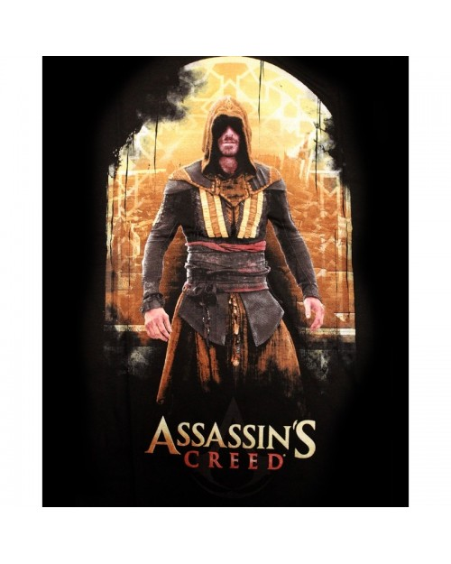 ASSASSIN'S CREED: THE MOVIE CALLUM LYNCH BLACK T-SHIRT