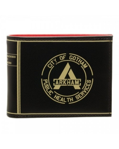 OFFICIAL DC COMICS SUICIDE SQUAD ARKHAM SILENCE IS GOLDEN DUCT TAPE WALLET