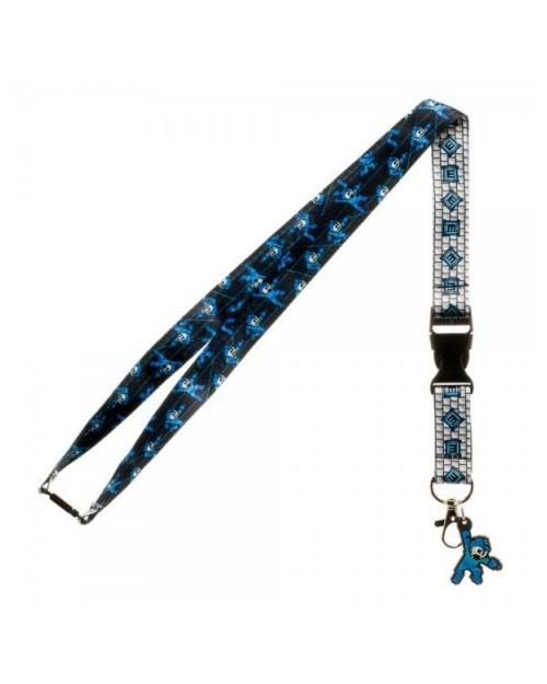 OFFICIAL MEGAMAN & E-TANK TILED PRINTED LANYARD