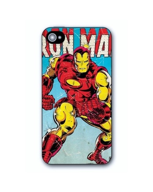 RETRO IRON MAN IPHONE 5 HARD CASE