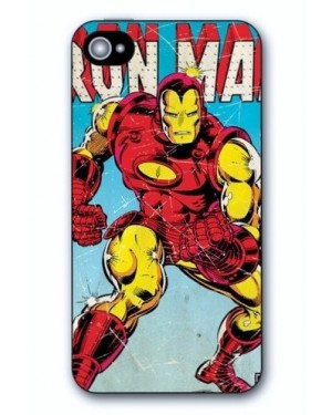 RETRO IRON MAN IPHONE 5 HARD CASE