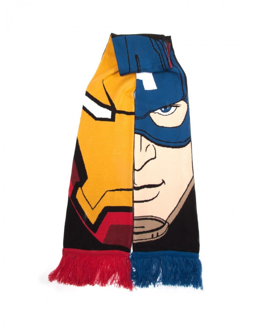 MARVEL'S CAPTAIN AMERICA CIVIL WAR: TEAM STARK V TEAM CAP SCARF
