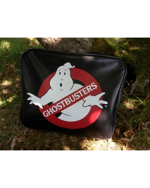 GHOSTBUSTERS LOGO MESSENGER BAG