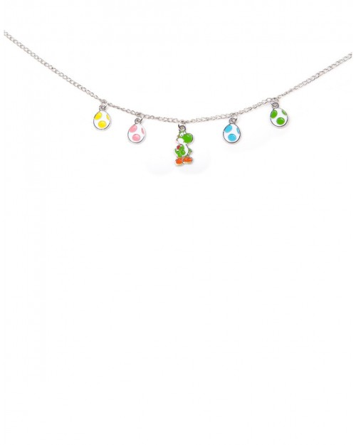 OFFICIAL NINTENDO'S SUPER MARIO BRO'S YOSHI EGGS CHARM NECKLACE